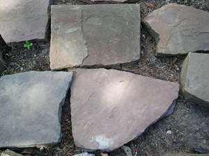 Porphyrpolygonalplatten