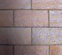 Quarzit Natursteinplatte Siena rusty