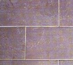 Schiefer Bodenplatte Cordoba violett