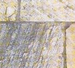 Schiefer Bodenplatte Palermo gelb