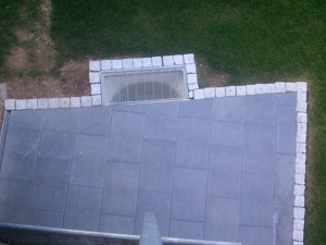 Terrasse mit Granit